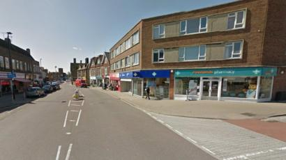 Man Arrested Over Lancing Pizza Hut Armed Robbery Bbc News
