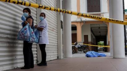 """Coronavirus en Ecuador: """"Mi esposo murió de covid y su cadáver ..."""