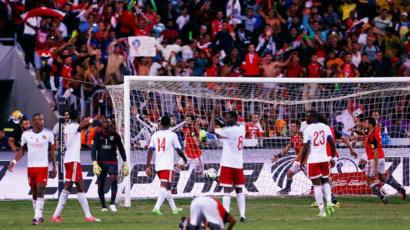 مصر تتأهل لنهائيات كأس العالم لأول مرة منذ عام 1990 Bbc