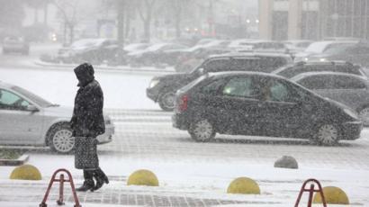 В Україну знову йде негода  де буде сніг  - BBC News Україна 38408a44e8c0d
