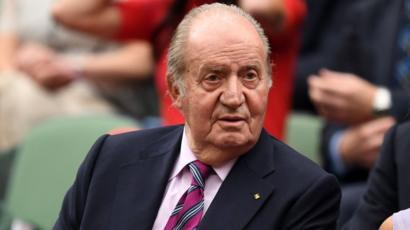 Juan Carlos I: el rey emérito de España comunica a su hijo su ...