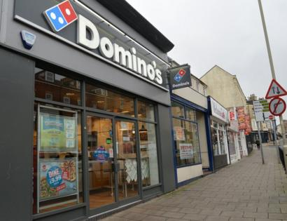 Dominos Pizza Shop Sex Couple Spared Jail Bbc News