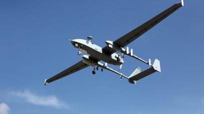 طائرة مسيرة اسرائيلية من طراز هيرون
