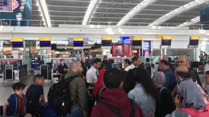 Ba cancelled flights