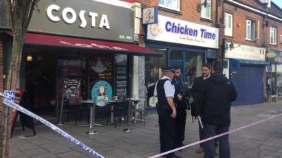 Man Critical After London Costa Stabbing Bbc News