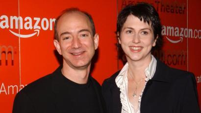 Amazon Boss Jeff Bezos And Wife Mackenzie Divorce Bbc News