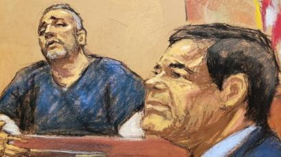 Cifuentes y El Chapo
