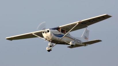 Sistema de combustible de un avión cessna