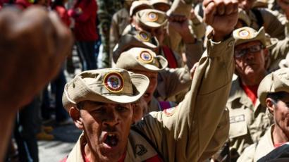 Milicias bolivarianas
