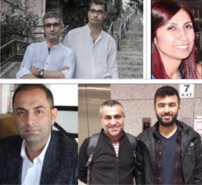 7'si gazeteci 8 kişinin 'MİT Kanunu'na muhalefet' suçlamasıyla ...