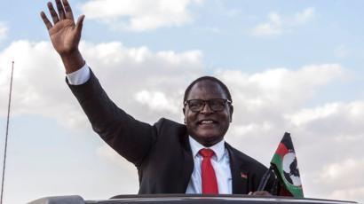 Malawi opposition leader Lazarus Chakwera wins historic poll rerun ...