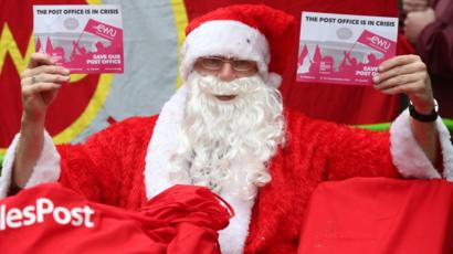 Are Post Offices Open On Christmas Eve.Strikes Show Contempt Says Downing Street Bbc News