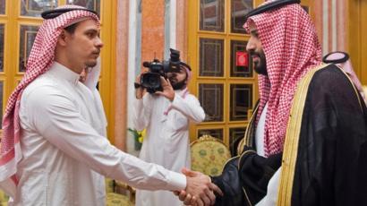 Salah Kaşıkçı ve Suudi Veliaht Prens Muhammed bin Selman