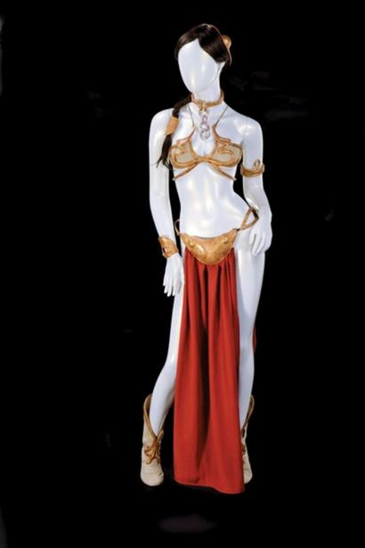 Princess Leia Bikini Sells For 96 000 Bbc News