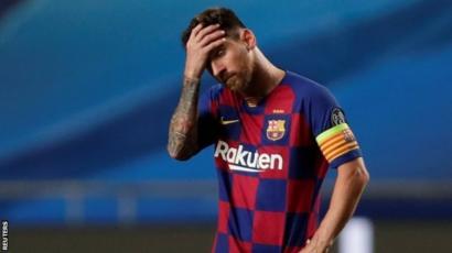 رسميا... الاعلان عن مصير ميسي مع برشلونة.
