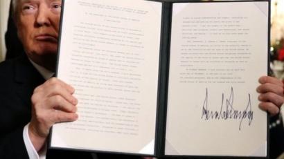طالب ترامب وزارة الخارجية الأمريكية ببدء الاستعدادات لنقل السفارة من تل أبيب إلى القدس.