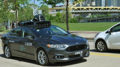 What Cars Qualify For Uber >> Uber Joins Race For Driverless Cars Bbc News