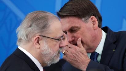 Procurador-geral Augusto Aras esteve com presidente mais que o ...