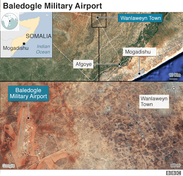 Somalia: Jihadists attack US training base at Baledogle