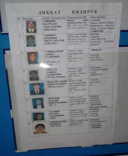 Насрулло Саййид Тошкент аэропортига илинган рўйхатнинг бошида турибди