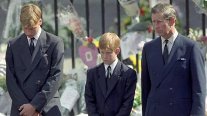 Prince Harry Very Glad To Walk Behind Diana S Coffin Bbc News