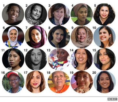 Fotos das integrantes da BBC 100 Women 2019 de 1 - 20