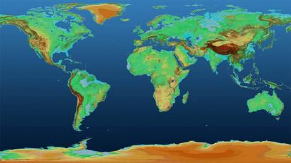 O Mapa Em 3d Que Mostra Com Precisao Os Pontos Altos E Baixos Da