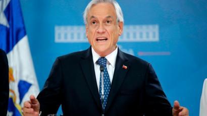 Sebastián Piñera en 2019.