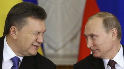 Янукович получил кредит от россии кредит под залог выданного займа