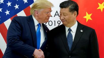 الرئيس الأمريكي ونظيره الصيني