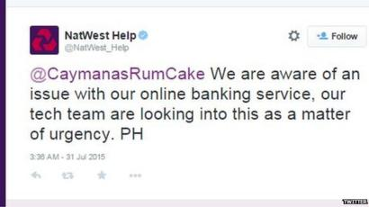 Natwest Website Problems Caused By Deliberate Attack Bbc News
