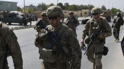 Soldados estadounidenses en Afganistán.