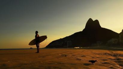 Playa de Leblon en Rio de Janeiro