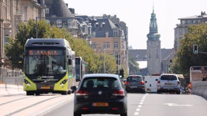 Tráfico en Luxemburgo