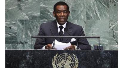 Madaxweynaha Equatorial Guinea Teodoro Obiang Nguema Mbasogo