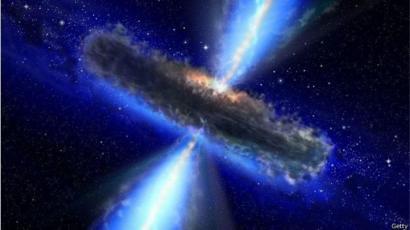 Espiral en agujero negro
