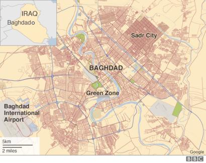 Baghdad blast \'kills 18\' in Shia district of Sadr City - BBC ...