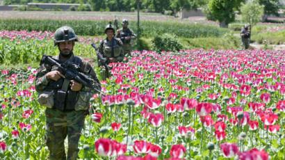 Image result for usa heroin afghanistan