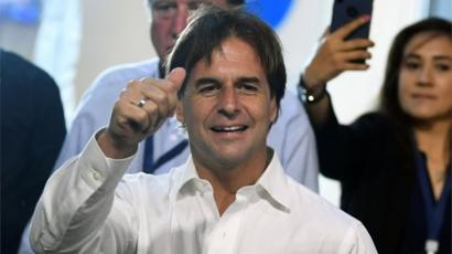 Image result for luis lacalle pou