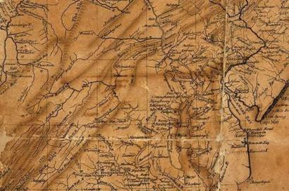 Welshman\'s 18th Century US map fetches $125k in New York ...