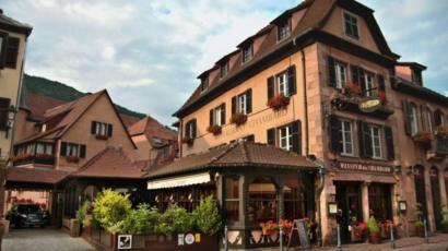 Le Chambard luxury hotel in Kaysersberg