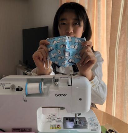 Coronavírus: a estudante japonesa que está costurando máscaras em ...