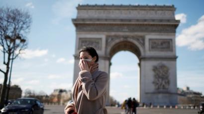 Arc de Triomphe, Paris, 15 Maret