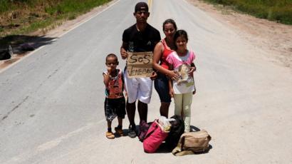 Brasil recebe apenas 2% dos 2,3 milhões de venezuelanos