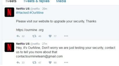 Netflix US Twitter account hacked - BBC News