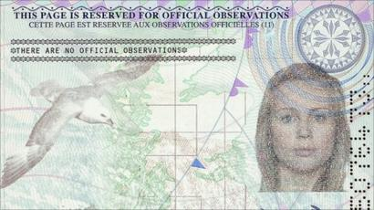 foto de What do new passport images say about modern Britain? - BBC News