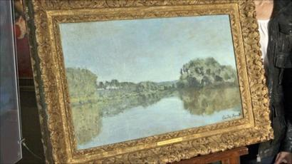 Is This Really A Fake Monet Painting Bbc News