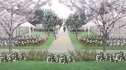 Cheltenham S Imperial Gardens Redesign Begins Bbc News