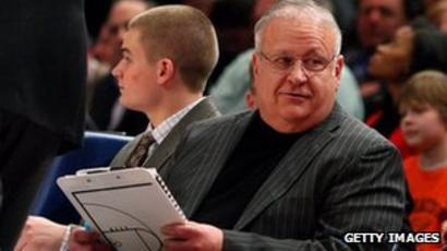 Abuse Claims Hit Syracuse University Basketball Coach Bbc News