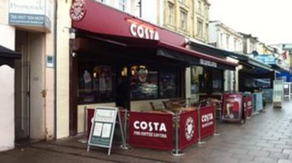 Second Bristol Costa Coffee Opens Without Permission Bbc News